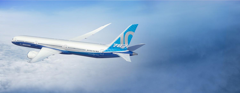 Boeing 787 – 10 Dreamliner   Coast Flight