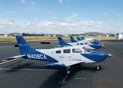 Piper Aircraft Coast Flight 2019